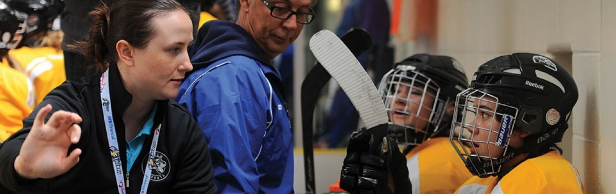 Female Coaches: Sign up now for a free coach clinic!
