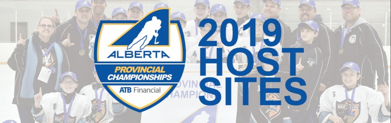 2019 Hockey Alberta Provincial Championship host sites announced